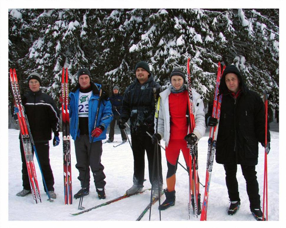 Лыжники ИБ